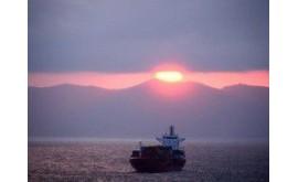 У берегов Шотландии горел корабль с радиоактивными отходами