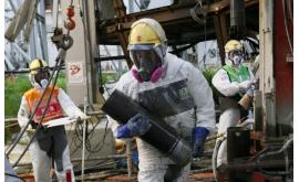 Ветер сорвал часть защиты реактора АЭС